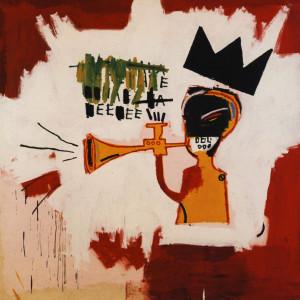 Trumpet by Jean-Michel Basquiat, 1984