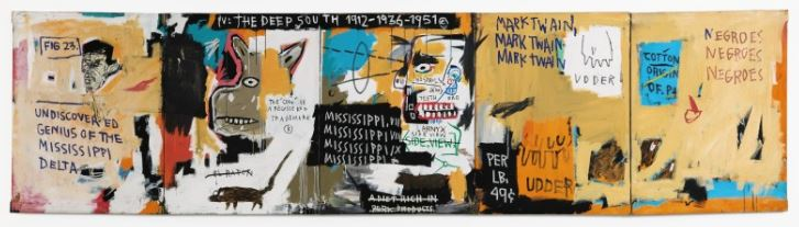 Undiscovered Genius Of The Mississippi Delta. Jeam-Michel Basquiat 1983