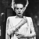 "Elsa Lanchester is ""The Bride of Frankenstein"" (1935)"