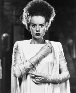 "Elsa Lanchester is ""The Bride of Frankenstein"" (1935)"