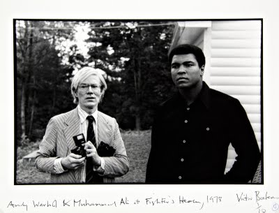 Victor-Bockris-Andy-Warhol-Muhammad-Ali-at-Fighters-Haven-1978